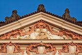 Iglesia barroca en praga — Foto de Stock