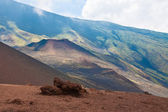 Volcano landscape — Stock Photo