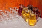 Wine jars — Stock Photo
