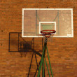 Stock Photo: Basketball backboard and hoop