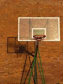 篮球篮板和箍 — 图库照片