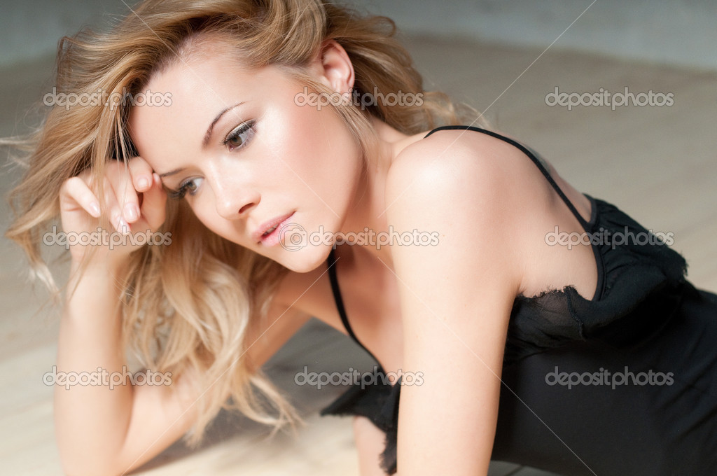 Girl with a fair hair  Stock Photo #10083530