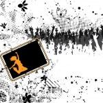 Grunge concert poster — Stock Vector #10701895