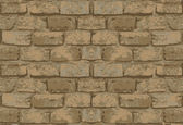 Old brick wall pattern — Stockvektor