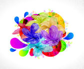 Colorful abstract background — Stockvektor