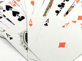 A poker aces — Stock Photo