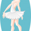 Ballet dancer - Stock Vector