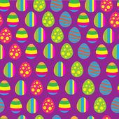 Easter eggs pattern — Stock Vector
