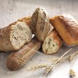 Assortment of bread — Stock Photo #10105612