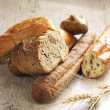 Different kinds of bread — Stock Photo #10234440