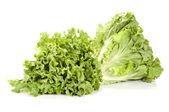 French salad on white — Stock Photo