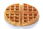 Freshly baked waffle — Stock Photo