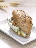 Gourmet sandwich — Stock Photo