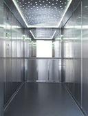 Full inox elevator — Stock Photo