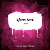Grunge pink background — Stock Vector