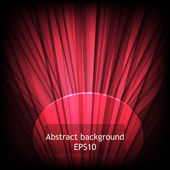 Abstract red background — Stockvector