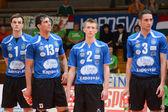 Kaposvar - jogo de voleibol kecskemet — Foto Stock