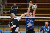 Kaposvar - juego de voleibol kecskemet — Foto de Stock