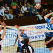 Kaposvar - kecskemet volleyball game — Foto de Stock