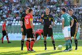 Kaposvar - gioco di calcio di pecs — Foto Stock