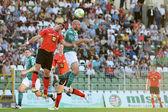 Kaposvar - Pecs soccer game — Stock Photo