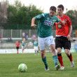 Stock Photo: Kaposvar - Pecs soccer game