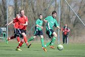 Kaposvar - Szentlorinc U17 soccer game — Stock Photo