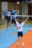 Kaposvar - juego de voleibol kazincbarcika — Foto de Stock