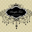 Royalty-Free Stock Vector Image: Luxury vintage frame ver. 3