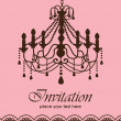Royalty-Free Stock Vector Image: Luxury chandelier background ver. 2