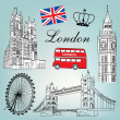 London vector — Stock Vector #10350897