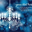 Royalty-Free Stock Vector Image: Chandelier background 01