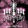 Royalty-Free Stock Vector Image: Chandelier background 02