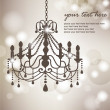 Royalty-Free Stock Vector Image: Chandelier background 03