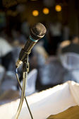 Microphone for speech — Stock Photo