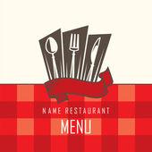 餐厅菜单设计 — 图库矢量图片