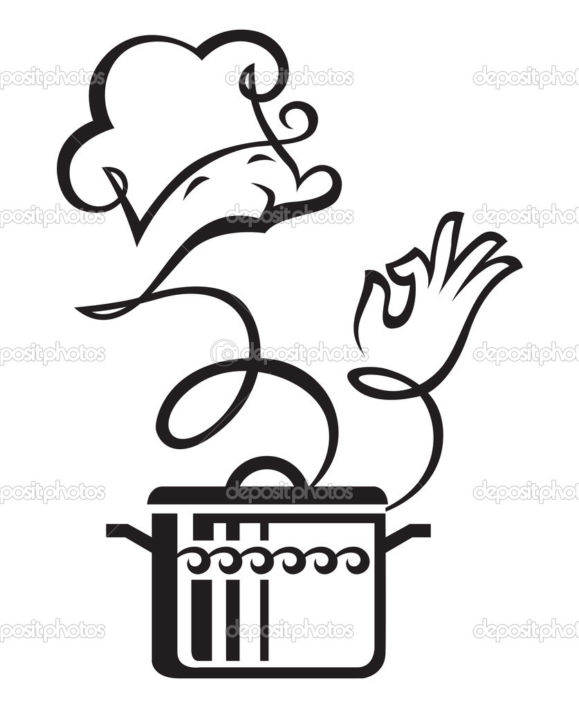 Pan And Cook Stock Vector 10039667