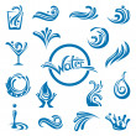 Waters design — Stock Vector