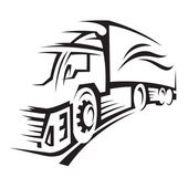 Illustration of a truck — Stock Vector