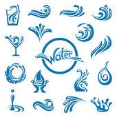 Wateren-ontwerp — Stockvector