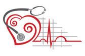 Eletrocardiograma — Vetorial Stock