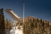 Holmenkollen jump. — Stock Photo