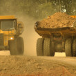 Stock Photo: Caterpillar Machines