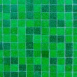 Stock Photo: Green Mosaic Tile Background