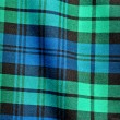 Foto Stock: Green Blue Plaid Background