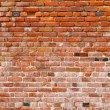 Old Rustic Brick Red Wall Background — Stock Photo