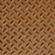 Rusty Diamond Plate — Stock Photo #10028229