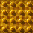 Yellow Repeat Knob Pattern — 图库照片 #10028756