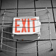 Royalty-Free Stock Photo: Exit Sign