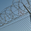 Prison Security Fence — Stock Photo #10029423
